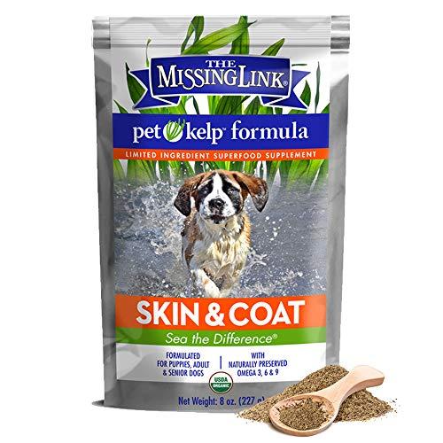 The FISSING Link - Suplemento alimenticio Vegano y orgánico para Perros para Mascotas - 227g