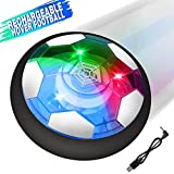 Growsland Kids toys Hover Soccer Ball, Rechargeable Air Power Floating Soccer Football Disk