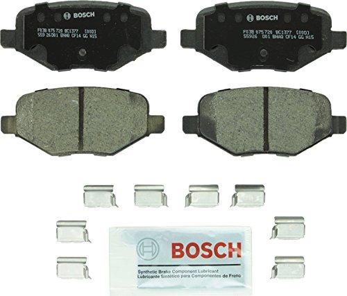 Bosch BC1377 QuietCast Premium Keramik Scheibenbremsbelagsatz für: Ford Edge, Explorer, Flex, Taurus, Police Interceptor Utility; Lincoln MKS, MKT, MKX, hinten