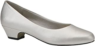 Easy Street Womens Halo Round Toe Classic Pumps, Silver,...