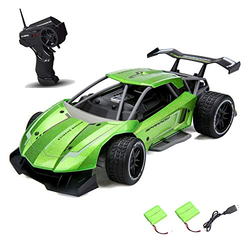 Remote Control Car for Boys Fast Speed RC Racing Car Alloy Rechargeable Toy Cars 1:16 Scale 2.4Ghz