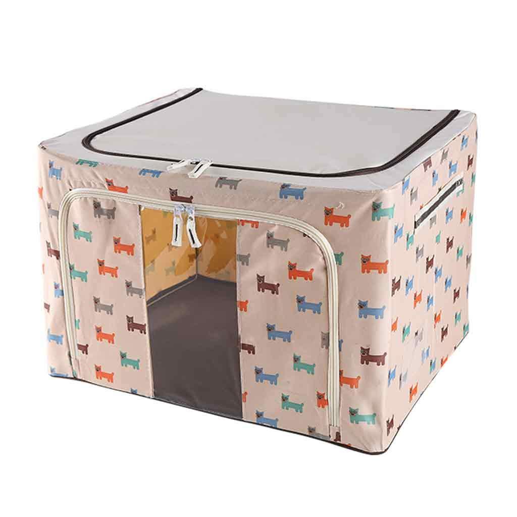 HLHHL-Storage Bag Caja De Almacenamiento Tela Oxford Plegable IKEA Debajo De La Cama Cubos De Almacenamiento Ropa Manta De Colchas Cestas para El Dormitorio del Armario Sala De Estar: Amazon.es: Hogar