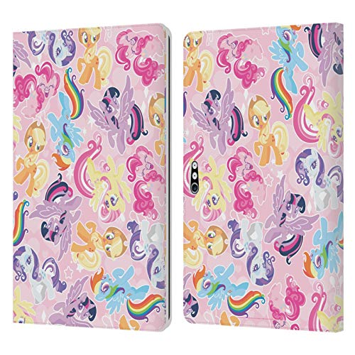 Official My Little Pony Ponies Sugar Crush Leather Book Wallet Case Cover Compatible For Microsoft Surface Pro 4/5/6