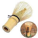 Milopon Matcha Besen Bambusbesen Teebesen Handegefertige Matchabesen mit 100 Borsten