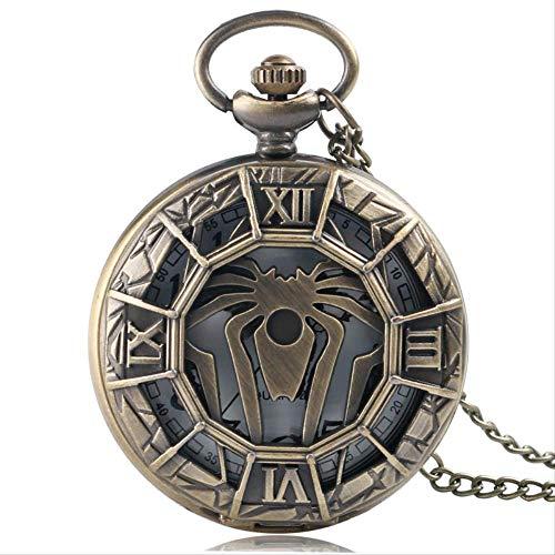 YYhkeby Pocket WatchGame of Thrones Bronce Pocket Watch Collar de Cadena Larga Steampunk Quartz Estilo Antiguo Mens Regalos Kiakai (Colo Jialele (Color : Style 1)
