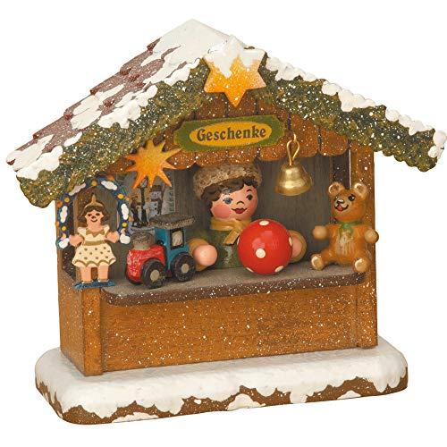 Hubrig Winterkinder Geschenkehäusel Erzgebirge