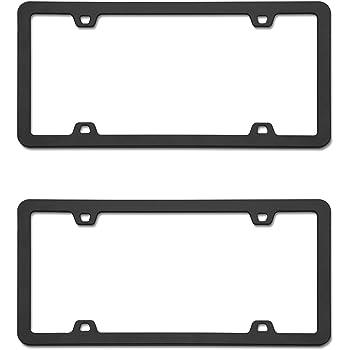 2 Frames 74533 Cruiser Accessories Neo Black License Frame