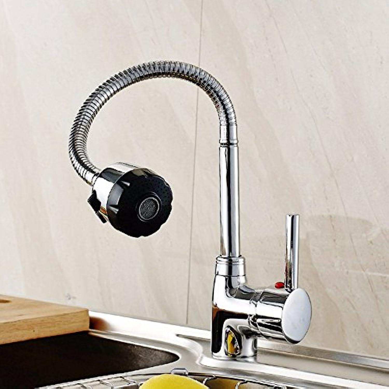 SHLONG Vollkupfer Küchenarmatur, heie und kalte Spüle Wasserhahn, Spüle Einhand-Einloch-Wasserhahn