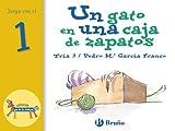 Un gato en una caja de zapatos: Juega con el 1 (Castellano - A PARTIR DE 3 AÑOS - LIBROS DIDÁCTICOS - El zoo de los números)