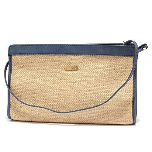 Geox 6170U borsa donna RESPIRA rafia beige handbag woman [ONE SIZE]