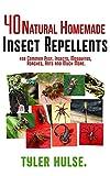 Repelentes caseros: 40 Natural casera repelente para Mosquitos, hormigas, moscas, cucarachas y plagas comunes (al aire libre, hormigas, mosquitos, cucarachas, ... viajar, viaje, aromaterapia, Camping)