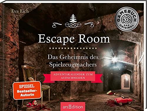 Escape Room. Das Geheimnis des Spielzeugmachers: Das Original: Ein Escape-Room-Adventskalender von Eva Eich