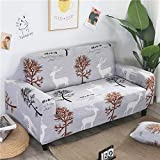 All-Inclusive Universal Stretch Sofa Cover Flower Sofa Cover Stretch Sofa Cover Polyester Fabric Can Be Washed In A Variety of Styles To Choose from Suitable For Hotel Living Room