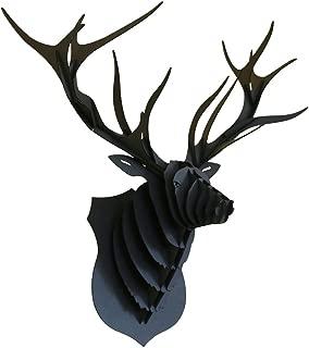 Kraft Noir /& Blanc Actua-Concept PAND04-M Troph/ée Animalier Noir//Blanc 29,7 x 21 x 1,2 cm