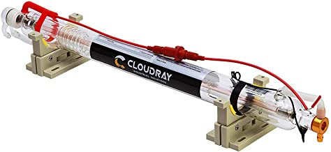 Cloudray CO2 Laser Tube Metal Head 35-45W L720mm Dia 50mm Water Cooling for CO2 Laser Engraver