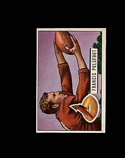 1951 Bowman Football #136 Fran Polsfoot STARX 6 EX/MT CS53111