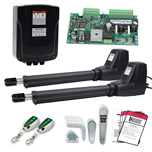 TOPENS AT1202 Automatic Gate Opener Kit Heavy Duty...