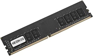 RAM DDR4,Memoria DDR4,RAM de la computadora,Memoria DDR4 4 GB/8 GB/16 GB PC4-17000 2133MHz 1.2V 288Pin,Memoria de escritorio para la placa madre Intel/AMD,Módulos de memoria de escritorio,Negro(4G)