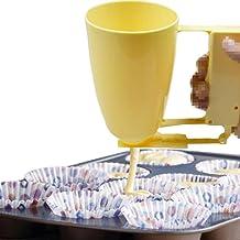 Merkts Machine à donuts en plastique - Outil manuel pour faire des gaufres, des donuts - Ustensiles de cuisine