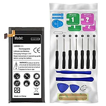 Built-in Battery Replacement Kit for Alcatel OneTouch Allura 5056O AT&T with Replaceable Internal Li_ion 2600mAh Battery and Screwdriver Tool