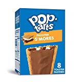 Kellogg's Pop-Tarts Frosted S'mores Toaster Pastries - Fun Breakfast for Kids, Bulk Size Pack of 12 Boxes (96 Count)