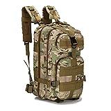 horeen militare tattico zaino piccolo zaini escursionismo, outdoor trekking campeggio tattico molle confezione, Desert Camouflage (Jungle camouflage)