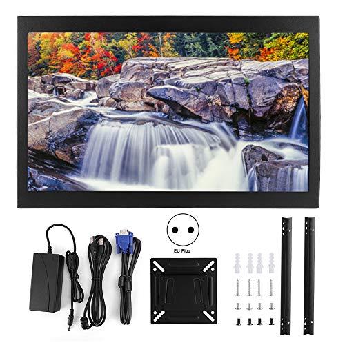 WLH 15.6-Zoll-Bildschirm-kapazitiver Touch-Display-Vollansicht IPS 1080P HDMI VGA USB (110V-240V) EU-Plug S