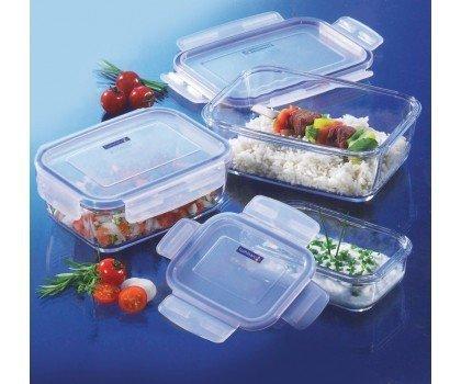 Luminarc Pure Box Active Glass Storage Box with Lid??20ml, 1?iece by Luminarc
