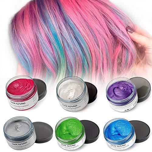 MOFAJANG Hair Color Wax in Silver Grey Review