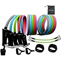 Hzajoy13-Piece Resistance Bands Kit With Handles
