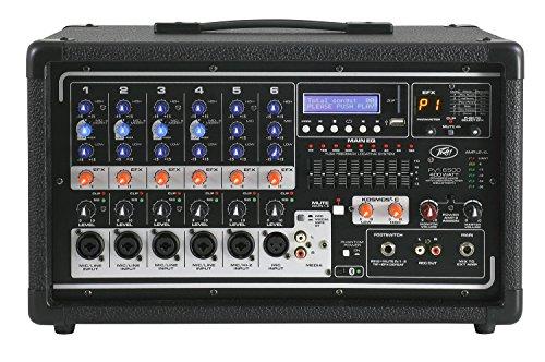6. Peavey PVi 6500 400-Watt 5-Channel Powered Mixer