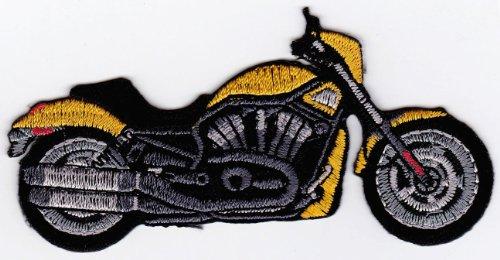 Aufnäher Bügelbild Aufbügler Iron on Patches Applikation Motorrad Chopper Tattoo
