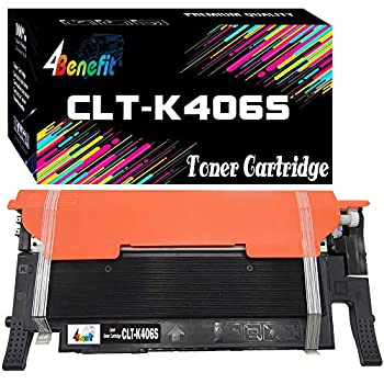 1-Pack  Compatible CLT-K406S K406S 406S Toner Cartridge Used for SL-C410W C460W C460FW CLP-360 CLP365 365W CLX-3300 CLX-3305 CLX-3305W Printer by 4Benefit