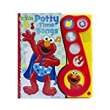 Sesame Street - Elmo Potty time Songs Little Music Note Sound Book - PI Kids
