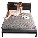 FTFTO Productos para el hogar Colchón Cama Transpirable Colchón cómodo para aliviar la presión de Apoyo para Dormir (Tamaño: 150 * 200 CM)