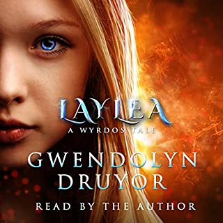 Laylea audiobook cover art