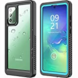 ANTSHARE Samsung Galaxy Note 20 Waterproof Case, Note 20 Case 5G with Built in Screen Protector Full Body Protective Shockproof Dustproof IP68 Waterproof Case for Galaxy Note 20 6.7inch(Blue)