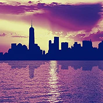 Backdrop for New York City - Laid-back Big Band Ballad with Guitar