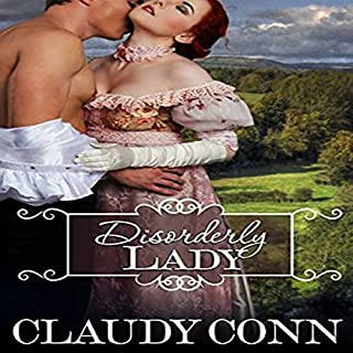 Disorderly Lady audiobook cover art