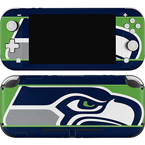 Skinit Decal Gaming Skin Compatible with Nintendo Switch Lite - Officially Licensed NFL Seattle Seahawks Zone Block Design