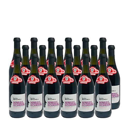 Rotwein Italien Lambrusco Grasparossa di Castelvetro DOC lieblich (18x0,75L)