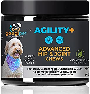 Natural Glucosamine for Dogs - Dog Joint Supplement...