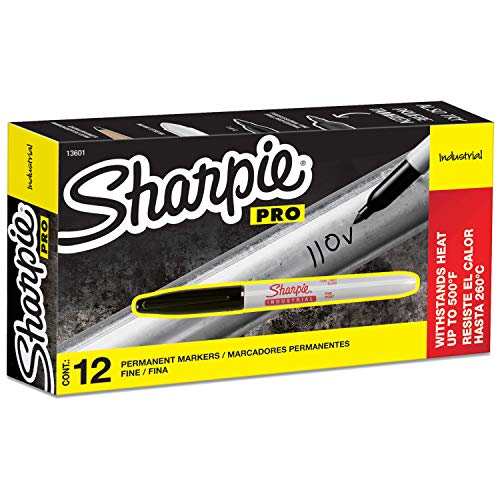 Sharpie Industrial Permanent Markers (12 Count)