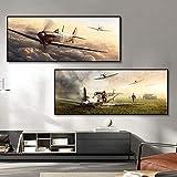 HUANGXLL Tschechische Hurricane Fighter Poster Leinwand