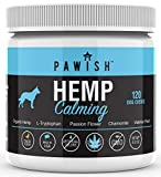 ANXIETY & STRESS RELIEF: Our hemp dog calming treats have been carefully formulated with NATURAL ingredients to aid with symptoms associated with Separation Anxiety, Stress, Traveling, Thunder and Hyperactivity. Keeping your furry friend relaxed and ...