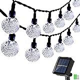 Guirnalda Luces Exterior Solar, Geemoo 9M Cadena de Luces So