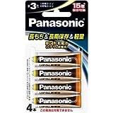 パナソニック 乾電池 リチウム乾電池 単3形 4本パック FR6HJ/4B