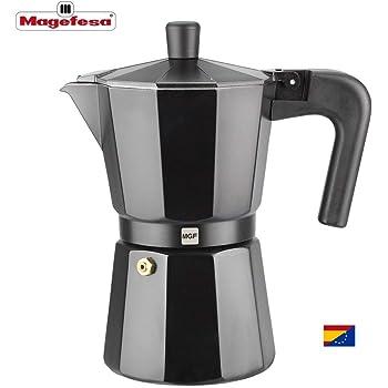 M MAGEFESA - Cafetera Modelo Kenia de Aluminio Grueso (9 Tazas ...