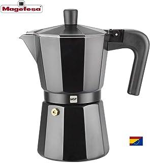 comprar comparacion M MAGEFESA - Cafetera Modelo Kenia de Aluminio Grueso (3 Tazas)