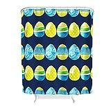 Lolyze Kein chemischer Geruch Duschvorhang-Set Teak-Schrank-Vorhang mit verstärkten Knopflöchern & Haken für Badezimmerduschen Maschinenwaschbar White 150x180cm